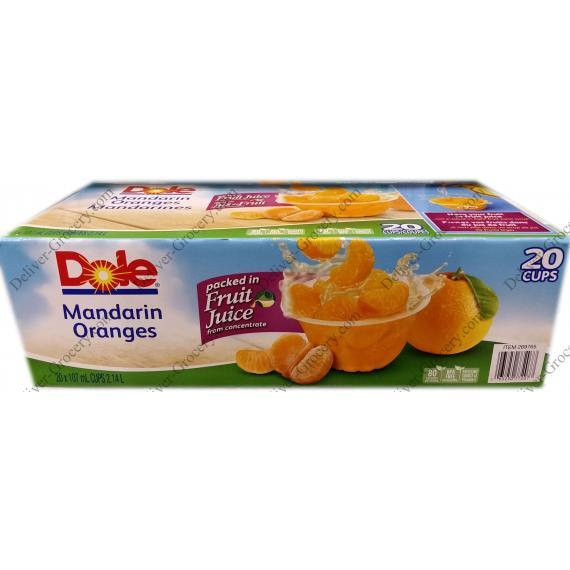 Dole Oranges, 20 x 107 ml