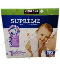 Kirkland Signature Supreme Diapers 192 x