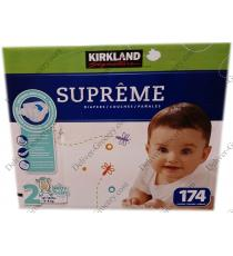 Kirkland Signature Supreme Diapers 174 x