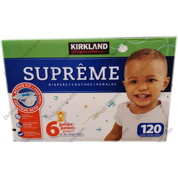 Kirkland Signature Supreme Diapers 120 x
