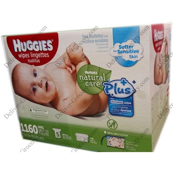 Huggies Baby Wipes, 1160 x