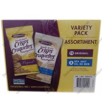 Chrunchmaster Snack Crackers, 20 x 35 g