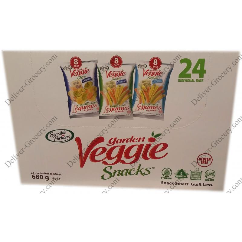 Sensible Portions Garden Veggie Snacks 24 X 28 G Deliver Grocery Online