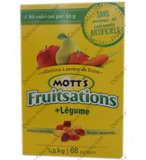 Motts Fruitsations + Légumes, 68 x 22 g