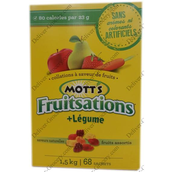 Motts Fruitsations + Veggie, 68 x 22 g