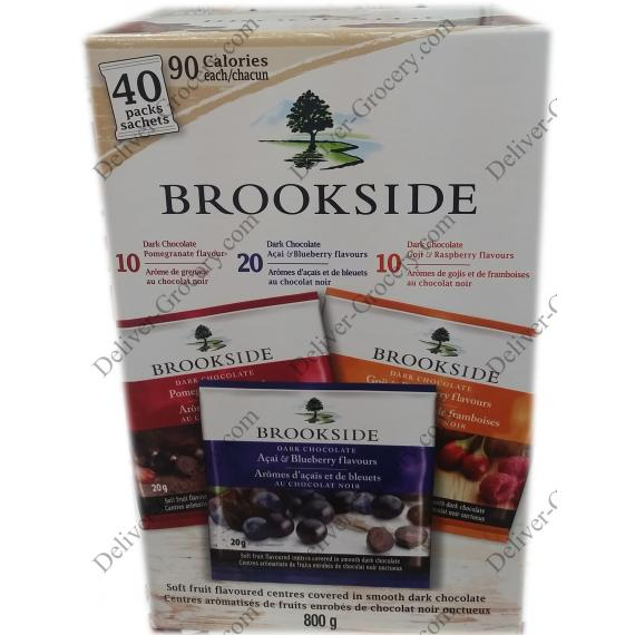 Brookside Variety Pack, 40 x 20 g