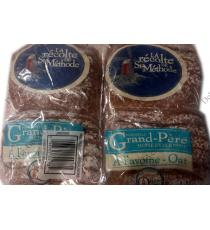 Boulangerie St-Methode Grandfather Home Style Oat Bread, 2 packs x 600 gr