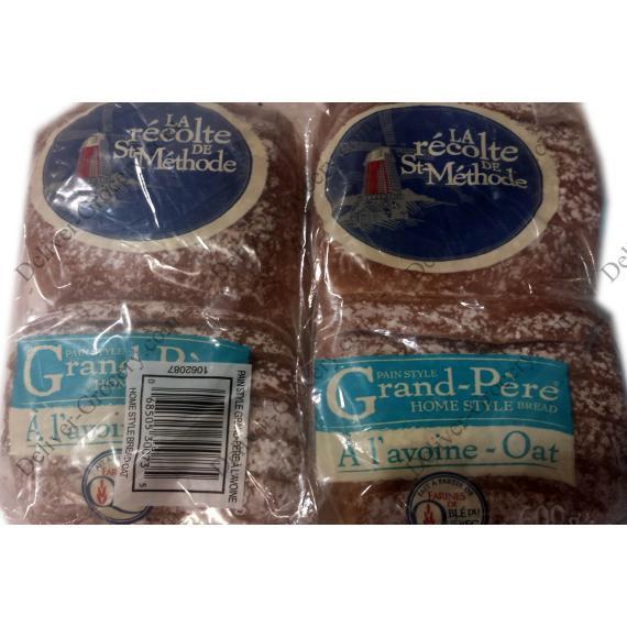 Boulangerie St-Méthode de grand-Père, Style de Maison de Pain d'Avoine, 2 packs x 600 g