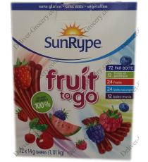 SunRype Fruit to Go Snack, 72 x 14 g