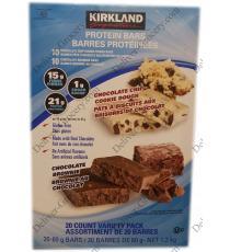 Kirkland Signature Barres de Protéines, 20 x 60 g, 1.2 Kg