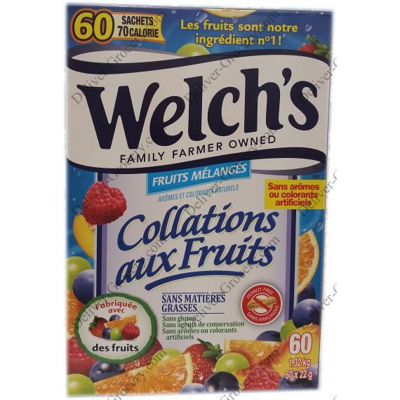 Welchs les Collations aux Fruits, 60 x 22 g
