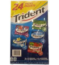 Trident Variété Pack Gum, 24 x packs,