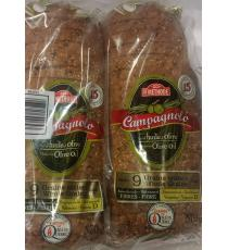 Boulangerie St-Methode Campagnolo 9 Grains Entiers Pain de mie, 2 packs x 570 g