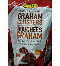 OMGS Milk Chocolate Graham Clusters, 482 g