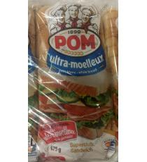 POM Ultra Soft White Bread, 3 packs x 675 g