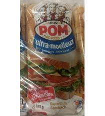 POM Ultra Soft White Bread, 3 packs x 675 g