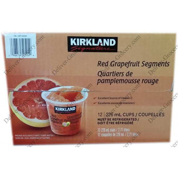 Kirkland Signature Red Grapefruit Segments, 12 x 226 ml