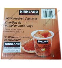 Kirkland Signature Red Grapefruit Segments, 12 x 226 ml