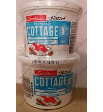 NATREL Sealtest Fromage Cottage 1%, 2 x 500 g