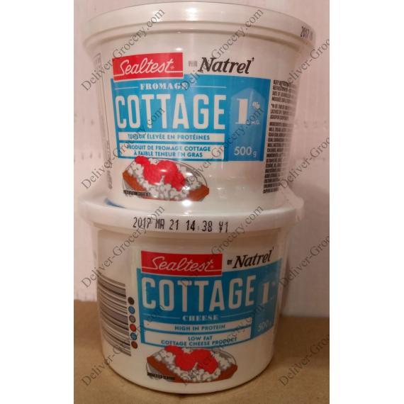 NATREL Sealtest Cottage Cheese, 2 x 500 g