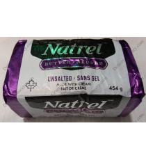 NATREL Unsalted Butter, 454 gr