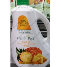 Fresh N Pure Golden Pineapple Juice, 2.63 kg