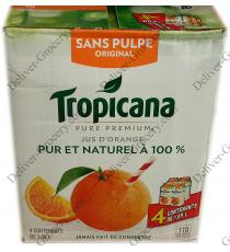 Tropicana Original Orange Juice, 4 x 1.89 L