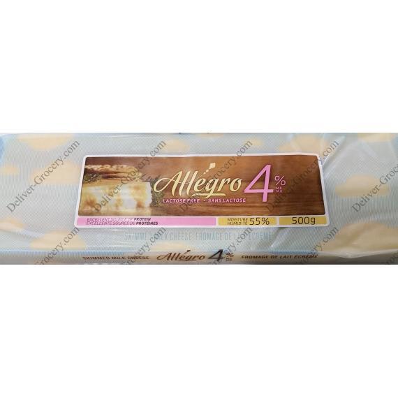 ALLEGRO Écrémé Fromage de Lait, 500 g
