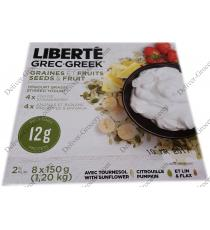 LIBERTE Greek Seeds & Fruits, 8 x 150 g