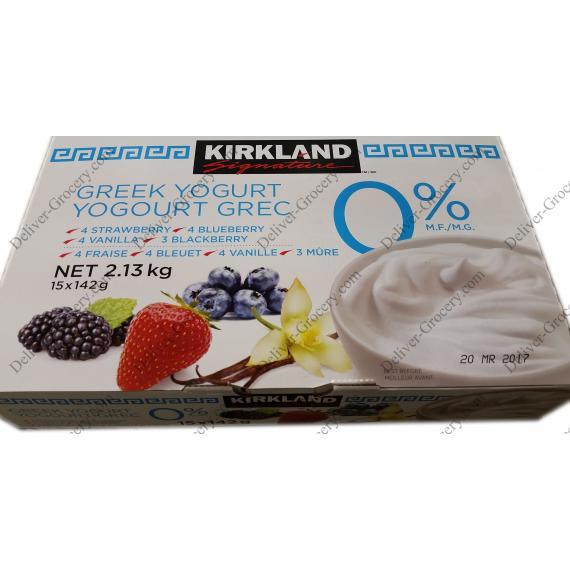 Kirkland Signature Greek Yogurt 2%, 15 x 142 g