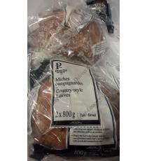 Premiere Moison Country-Style Loaves, 2 packs x 800 gr