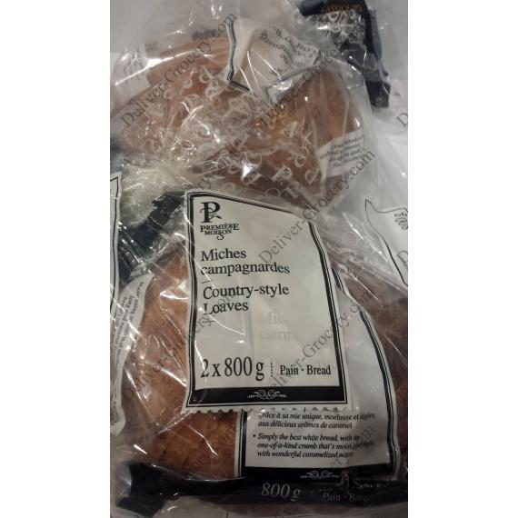 Premiere Moison Country-Style Loaves, 2 packs x 800 g