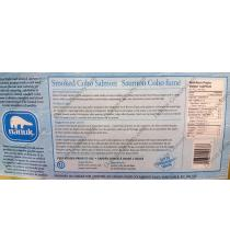 NANUK Smoked Coho Pacific Salmon, 500 g