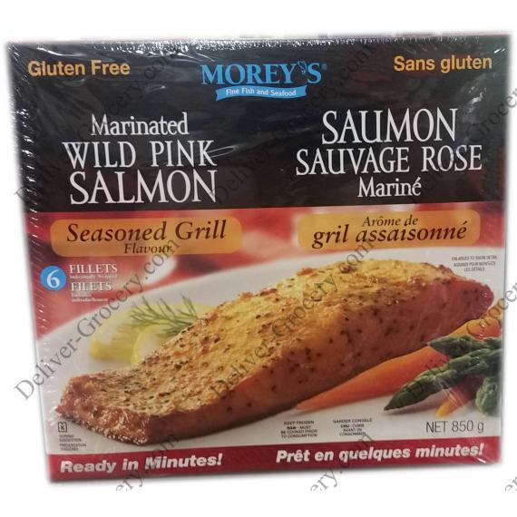 MOREYS Marinated Wild Pink Salmon, 850 g