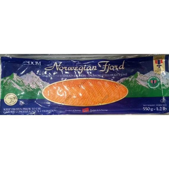 Norwegian Fjord Smoked Salmon, 550 g