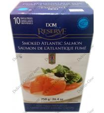 DOM RESERVE Smoked Salmon, 750 g