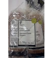 Premiere Moison Sprouted 8 Grain Squares Biologique Bread, 2 packs x 750 gr
