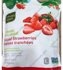 Natures Touch Organic Sliced Strawberries, 2 kg