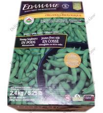 Natures Classic Organic Edamame, 2.4 kg