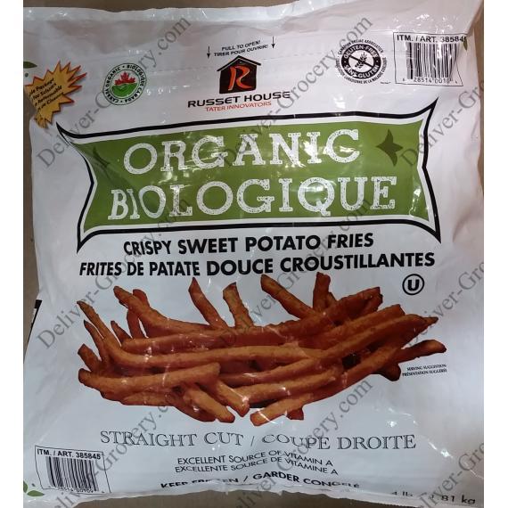 Russet House Organic Crispy Sweet Potato Fries, 1.81 kg