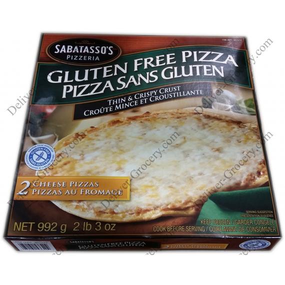 SABATASSOS Gluten Free Pizza, 992 g