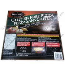 SABATASSOS sans Gluten Pizza, 992 g