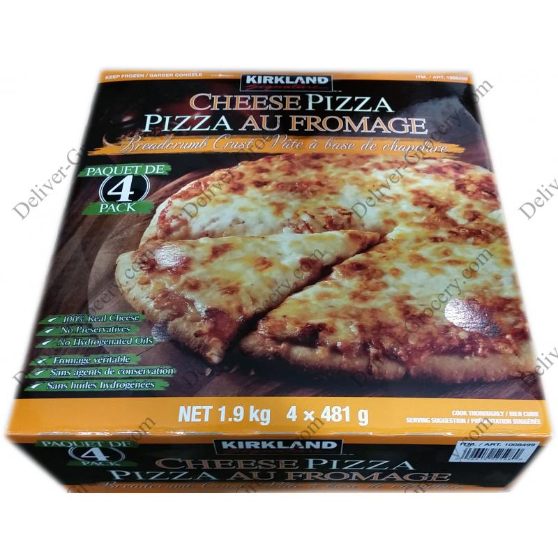 Kirkland Signature Cheese Pizza 4 X 481 G Deliver Grocery Online