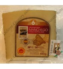 Agropur Manchego Âgés de 6 Mois de Fromage, 400 g