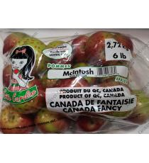 McIntosh Apples 2.72 kg / 6lb