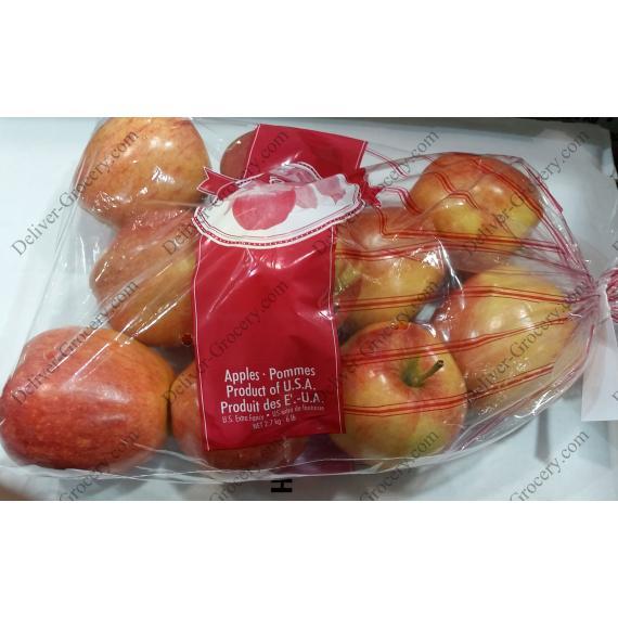 Les pommes Gala 2,72 Kg / 6