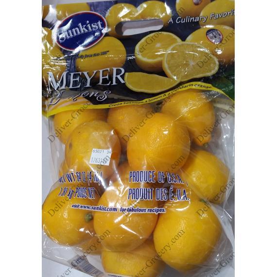 Citrons Meyer Lemons 1.81 kg