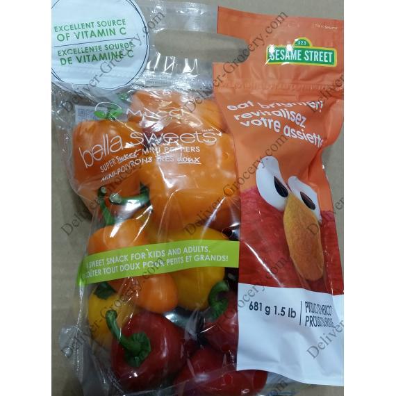 MUCCI Farms Super Sweet Mini Peppers, 681 g