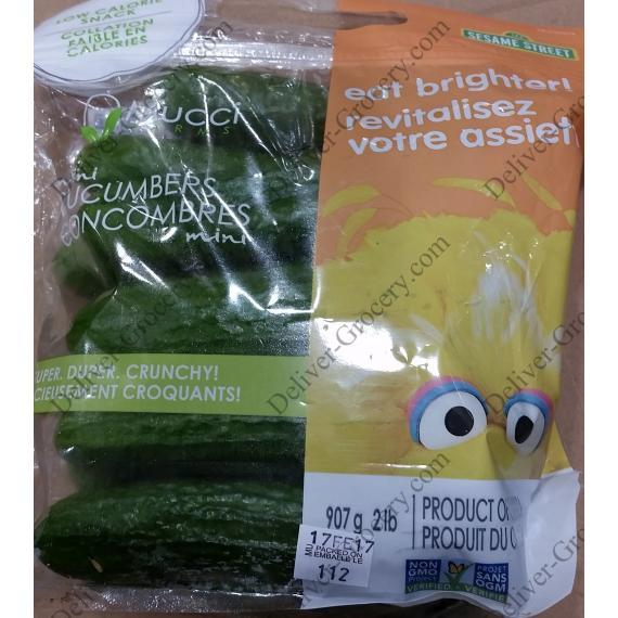 MUCCI Farms Mini Cucumbers, 907 g