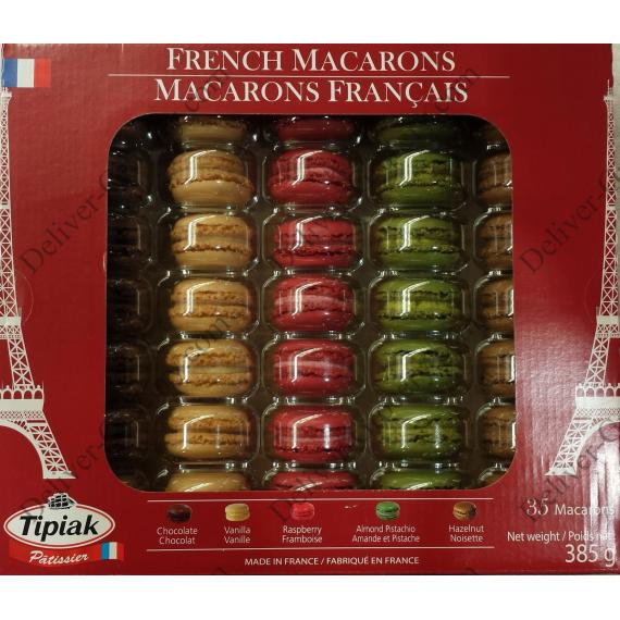 Tipiak French Macarons, 35 pieces, 385 g